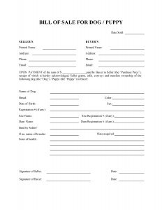 roofing contract template dog or puppy bill of sale form