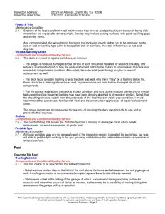 roofing contract template sample home inspection report