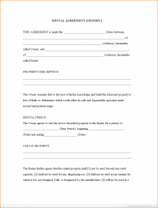 room leasing agreement free rental agreement forms rental agreement generic