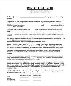 room leasing agreement simple one page commercial rental agreement pdf fr
