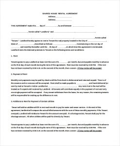 room rental agreement doc double bed room house rental agreement doc download