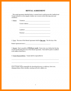 room rental application one page lease agreement rental agreement form