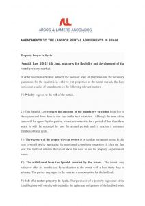 roommate agreement form amendments to the law for rental agreements in spain