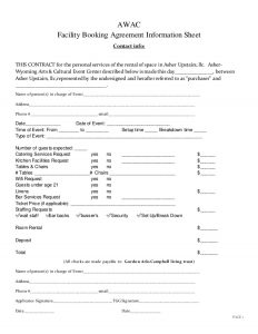 roommate contract template awac rental agreement