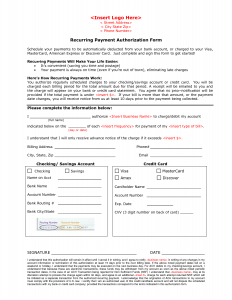 roommate contract template payment form template with ach authorization form template