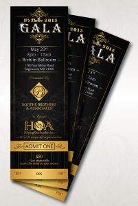 run of show template wethrivegala ticket