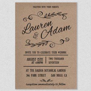 rustic wedding invites templates cacceeadd formal invitations rustic invitations