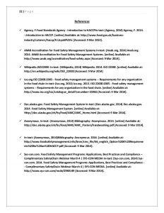safety plan example food safety management system fast food restaurent
