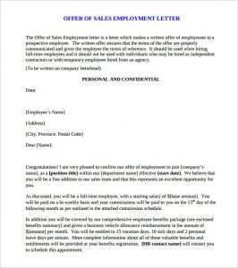 salary counter offer letter download printable sales offer letter template free pdf