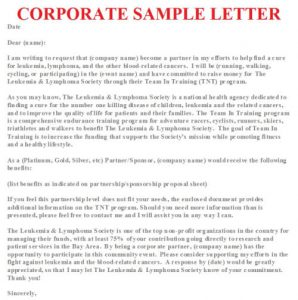 salary negotiation letter sample corporate sample letter