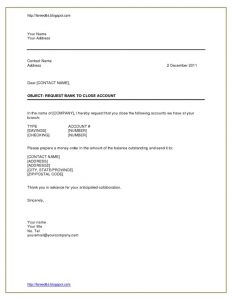salary verification letters format of letter to bank for account closing cover letter templates