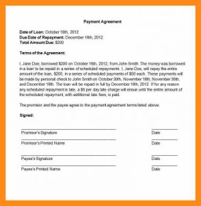 sale contract template payment agreement contract payment agreement contract template image