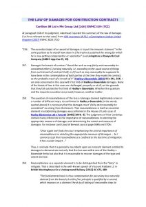sale contract template what can you claim for breach of a construction contract