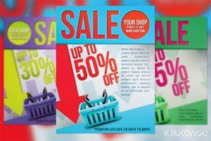 sale flyer template simple sale flyer