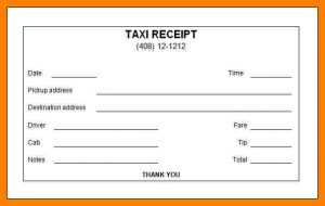 sale proposal template taxi bill format in word