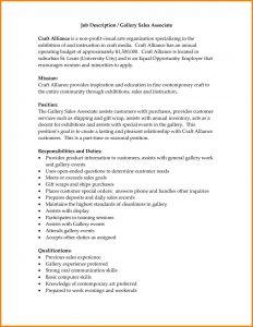 sales job description duties and responsibilities of sales staff job description for a retail sales associate resume resumepinclout