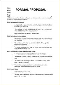 sales letter samples formal proposal template formal proposal cb