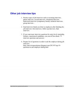 sales letter samples sales manager interview questions and answers