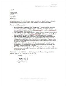 sales letters samples sample sales letter