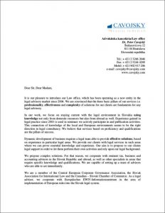 sales letters template law office introduction letter sample