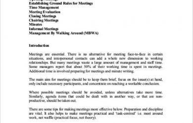 sales meeting agenda easy effective meeting minutes template