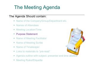 sales meeting agenda how to plan and lead a meeting for maximum results