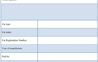 sales receipt template used car sales receipt template