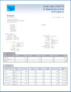 sales reports templates wordml template