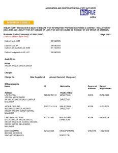 sample audit report singapore acra sample bp cert ccfp