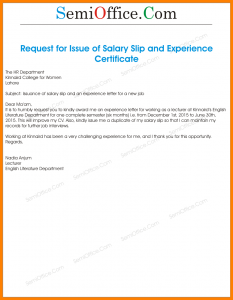 sample bank statement request letter for getting salary slip