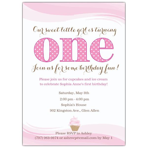 sample birthday invites