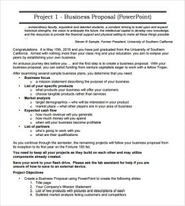 sample business proposal business proposal sample
