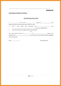 sample car bill of sale undertaking format for employee prospectus cb