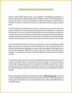 sample college application writing application letter n samplez excellent mba entrance essay cb