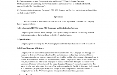 sample contract for services sample contract for services