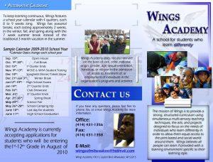 sample corporate resolution wings school brochure by pageless darjz