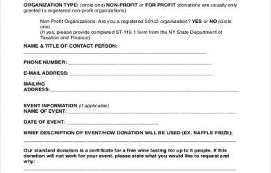 sample donation request letter donation request letter form
