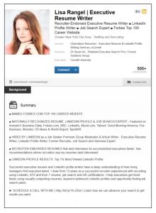 sample email to hiring manager linkedin profile sample