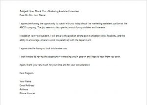 sample email to recruiter sample email thank you letter to recruiter after phone interview