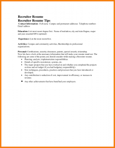 sample email to recruiter sample email to recruiter