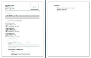 sample employment verification letter fresher resume template