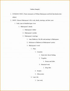 sample essay outlines apa outline template apa outline sample