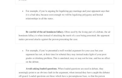 sample essay outlines how to write a debate outline
