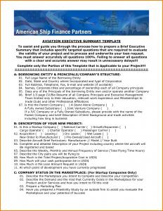 sample executive summary executive summary sample