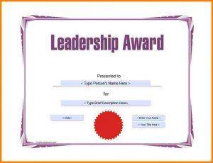 sample gift letter sample awards certificate award template