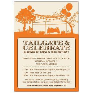 sample graduation invitations tailgate and celebrate birthday invitations p z