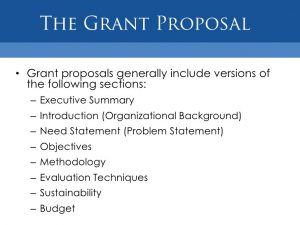 sample grant proposal non profit grant funding for nonprofit organizations