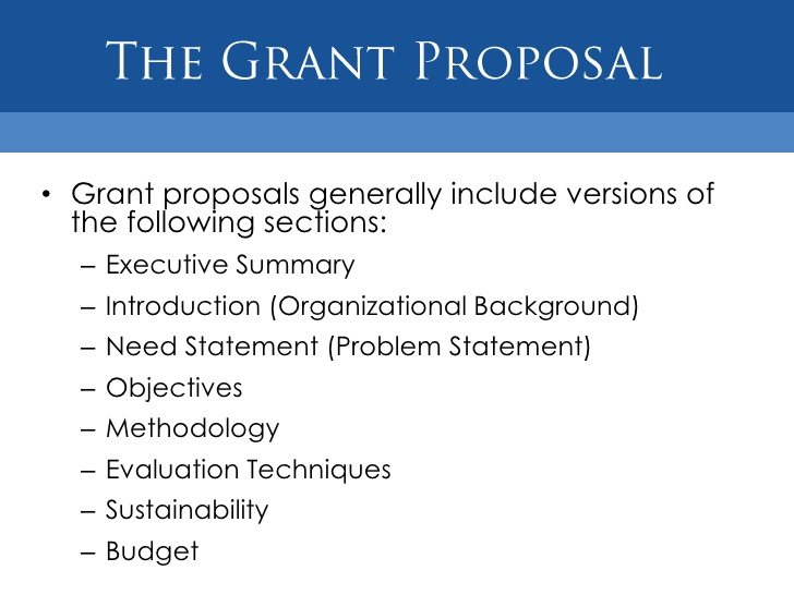 Sample Grant Proposal Non Profit | Template Business