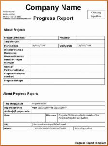 sample lab report biology daily progress report template progress report template