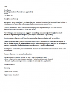 sample letter asking for donation general donation request letters x